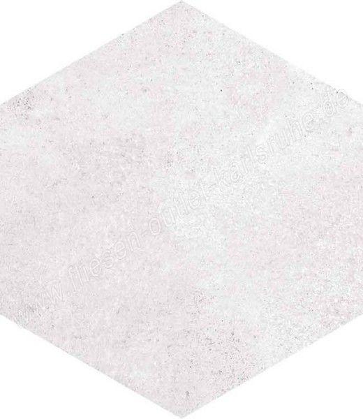 Vives Rift Blanco 23x26,6 cm Hexagono