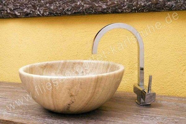 Waschbecken / Schüssel TH-003-MAS Marron Satinato