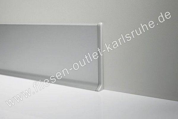 PVC Endkappe weiss glänzend