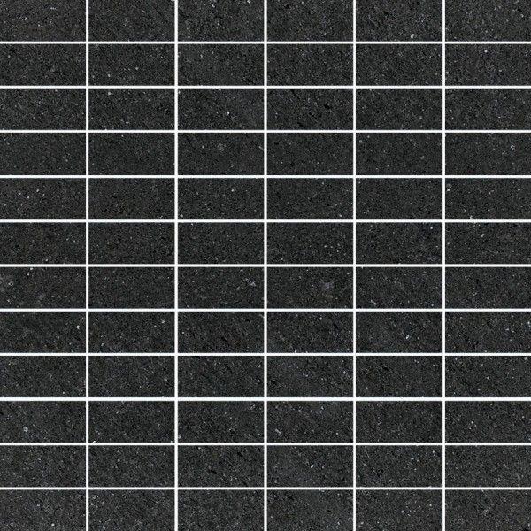 Mirage Mosaik Mattoncino SO01MC59 Stones 2.0 Basaltina Nera