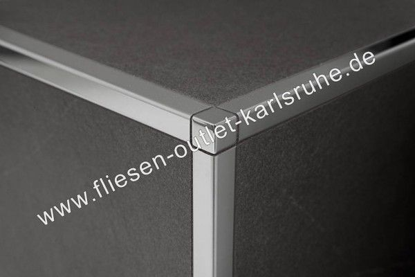 fliesen profil q 80 proangle 8 mm stab 270 cm fliesen outlet. Black Bedroom Furniture Sets. Home Design Ideas