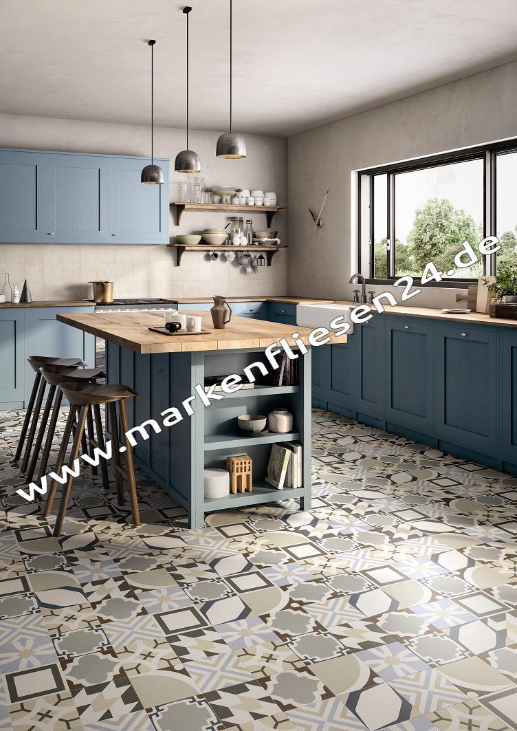 Emil be square 20x20 cm dekor concrete mix fliesen outlet - Zementfliesen outlet ...