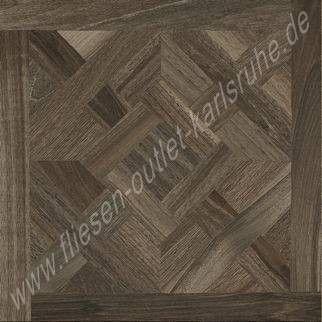Casa dolce Casa Wooden Tile Decor walnut 80x80 cm Art.741896