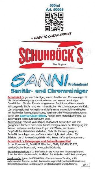 Schuhböck Sanni 0,5 L
