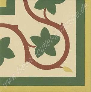 Vives 1900 Ecke 20x20 cm Gaudi-3 mehrfarbig