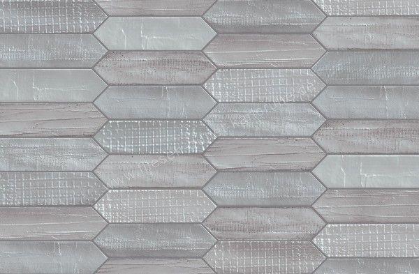 Mirage Glocal Dekor Tissue Grey 7,5x28 cm