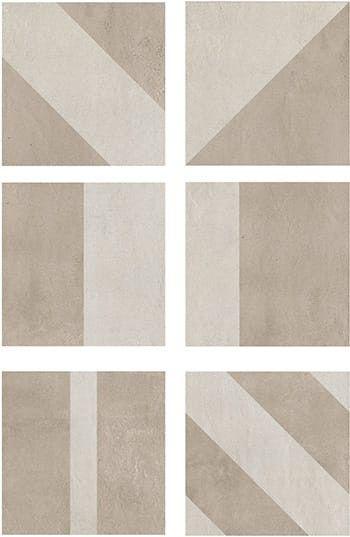 Casa dolce Casa Studios Decor B Mix 20x20 cm Sand / Chalk