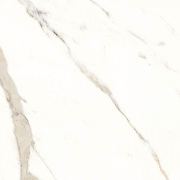 Trilogy 0.3 Zero Calacatta White lux / glänzend 100x100x0,55 cm