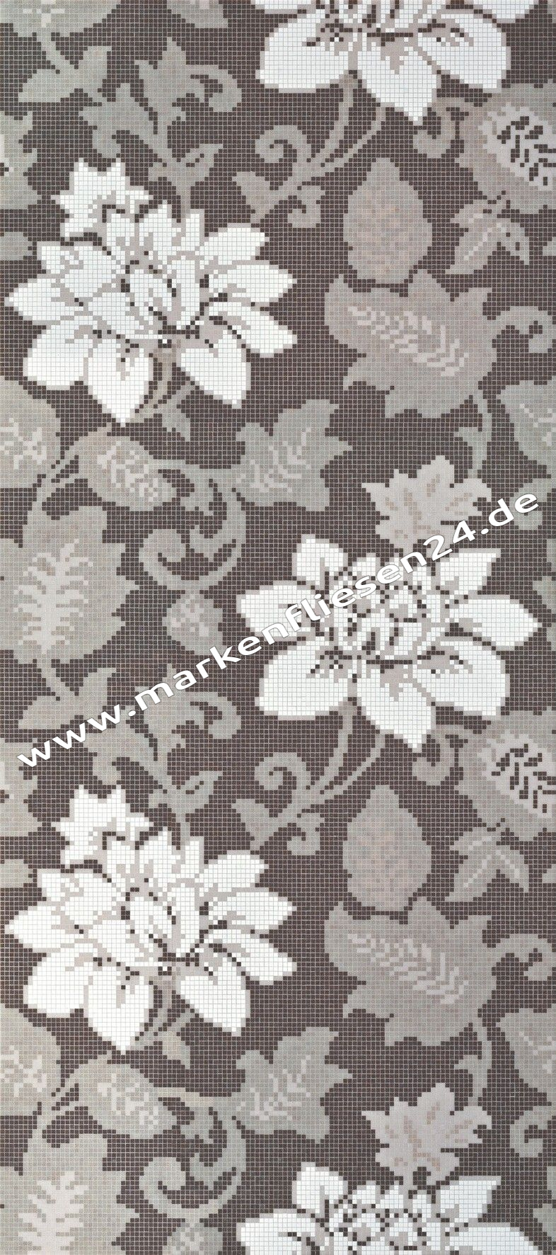 Bisazza glasmosaik dekor adelaide dark grey 129 1x290 5 cm fliesen outlet - Fliesenforum karlsruhe ...