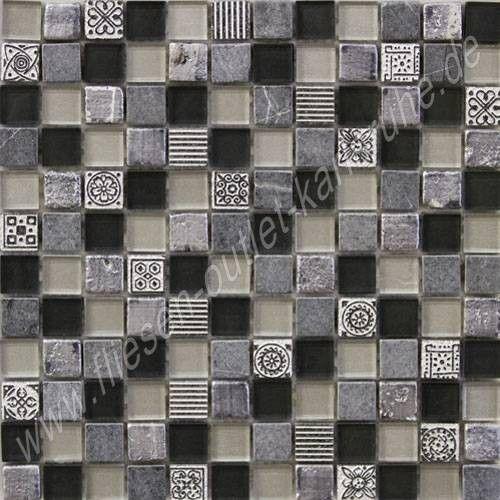 Mix black 2,3x2,3 cm