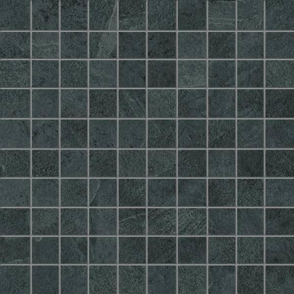 Ergon Cornerstone Slate Black 3x3 cm Mosaico