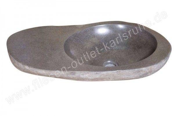 Waschbecken / Schüssel TH-021-GR Riverstone