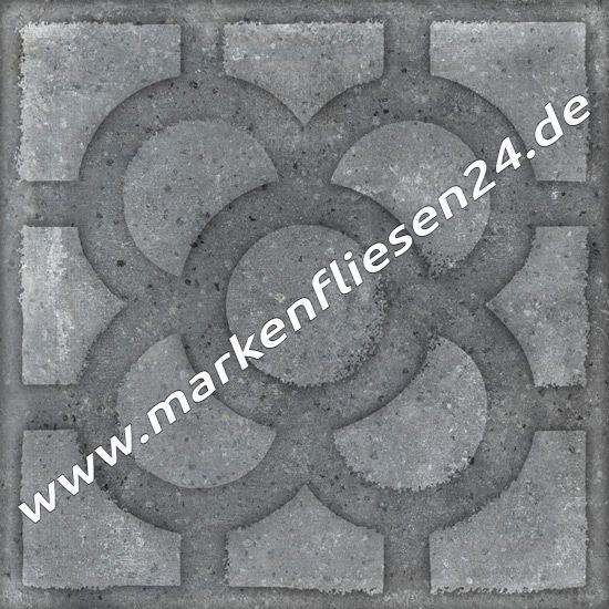 Feinsteinzeug vives acorn grafito 20x20 cm world streets - Fliesen outlet kamen ...