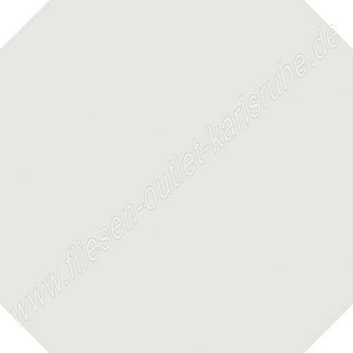 Vives Vodevil Achteckfliese 20x20 cm weiss