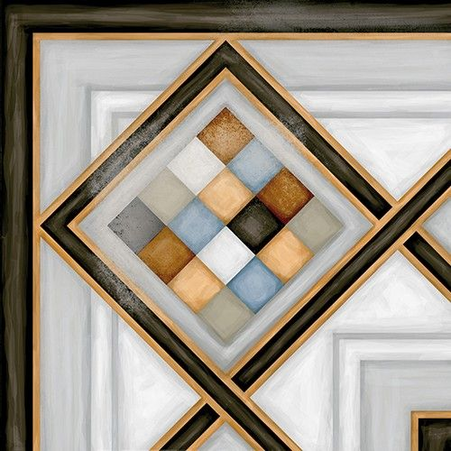 Vives Vodevil 20x20 cm Ecke Pombo-3 Multicolor