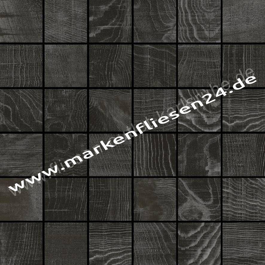 Colorker feinsteinzeug mosaik eternal wood dark 5x5 cm netz 30x30 cm fliesen outlet - Fliesen outlet ...