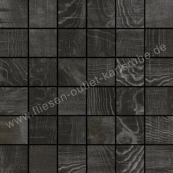colorker feinsteinzeug mosaik eternal wood dark 5x5 cm. Black Bedroom Furniture Sets. Home Design Ideas