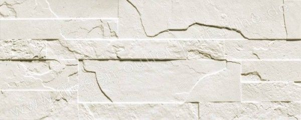 Sichenia Pavéwall 16,5x41 cm bianco
