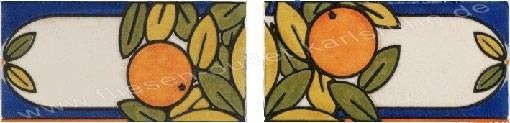 Bordüre 10x20 cm Fuenlabrada-2 mehrfarbig