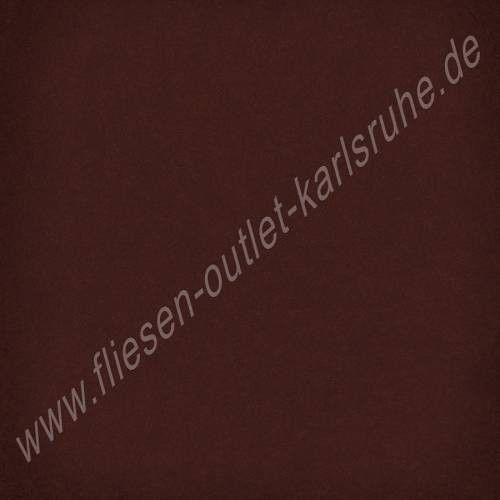 Vives 1900 - Steinzeugfliese 20x20 cm chocolate