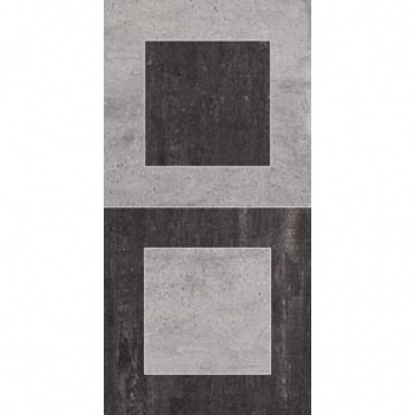 Emil On Square Dekor-Set 2-tlg. 30x30 cm Cemento/Lavagna