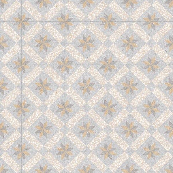 Vives Feinsteinzeug 30x30 cm Farnese Dekor Gadner Crema