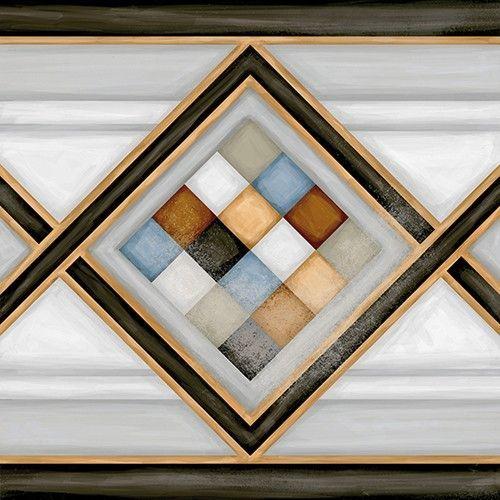 Vives Vodevil 20x20 cm Fries Pombo-2 Multicolor