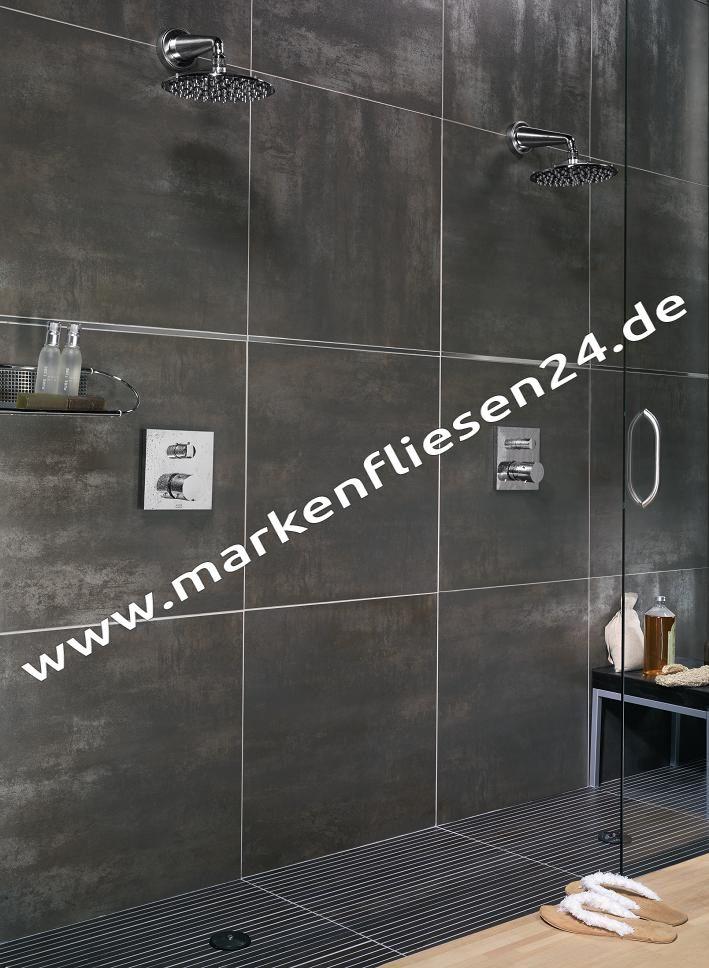 View feinsteinzeug platinum titanio nero 60x60 cm vpl670 fliesen outlet - Zementfliesen outlet ...
