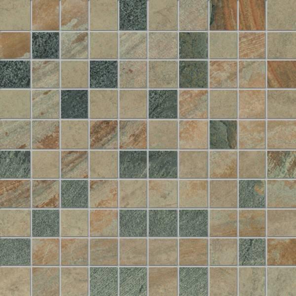 Ergon Cornerstone Slate Multicolor 3x3 cm Mosaico