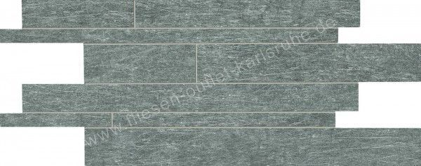 Ergon Metal.It Listelli Sfalsati Black Nickel 30x60 cm Naturale RT