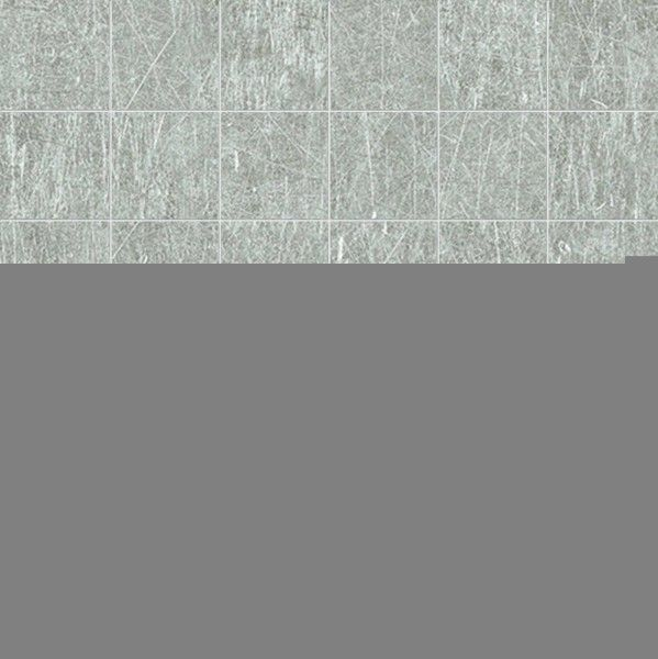Ergon Metal.It Mosaico Steel 5x5 cm Naturale RT