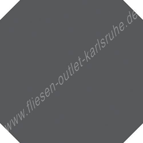 Vives Vodevil Achteckfliese 20x20 cm antrazith