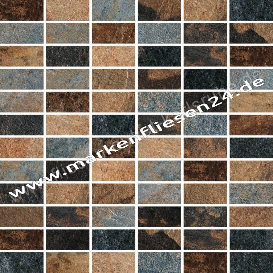 Ad03 Feinstzeinzeug Mosaik Mattoncino Mirage Ardeisie