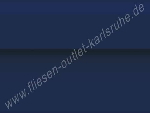 Vives Zocalo Rivoli marino Sockel 15x20 cm marineblau glänzend mit Wulst