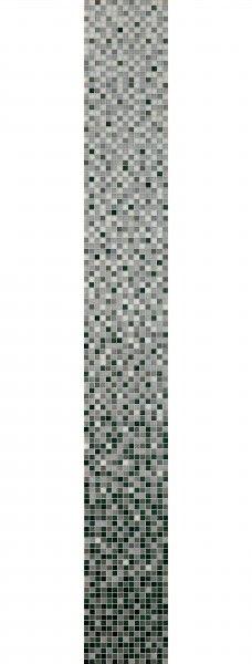 """Bisazza Sfumature Verlauf """"New Grigia Whiteless"""" 2x2 cm inkl.Kit"""