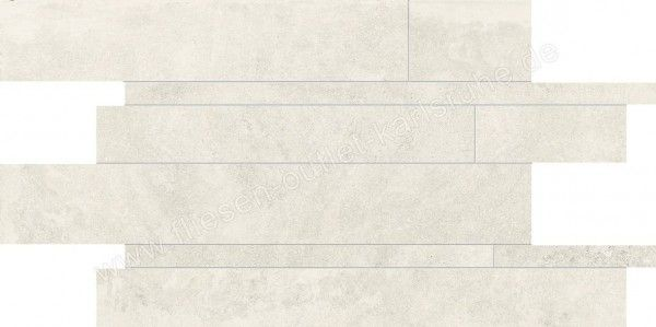 Emil Petra white 30x60 cm Listelli Sfalsati Art.M634P0R