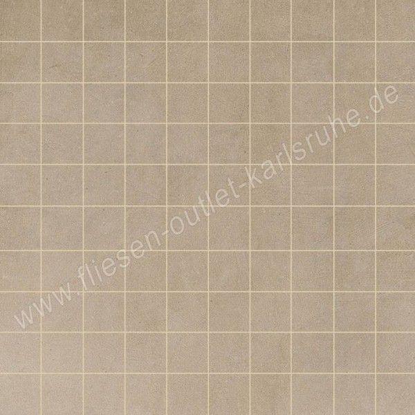 Floorgres Industrial Mosaico Taupe 3x3 cm naturale