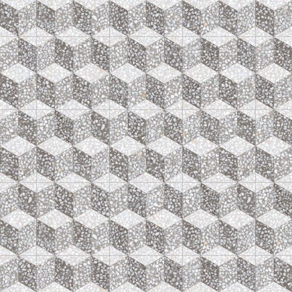 Vives Feinsteinzeug 30x30 cm Farnese Dekor Cavour Cemento