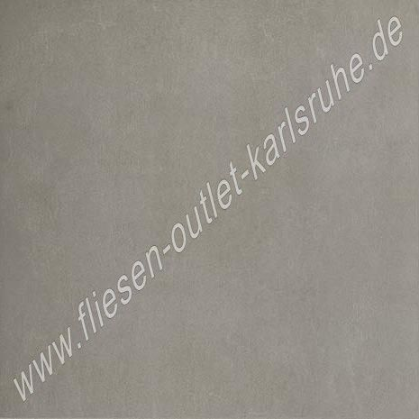 Floorgres Terrassenplatte 60x60x2 cm Industrial Steel Bocciardato RT