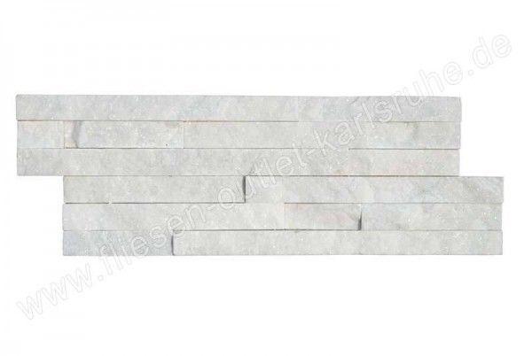 Naturstein Verblender Laja Gobi blanco 18x50 cm