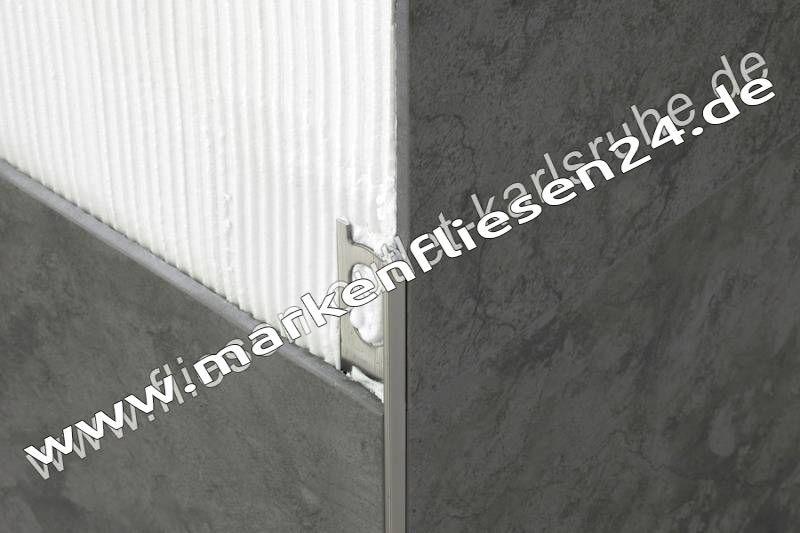 Fliesen profil a 80 proangle 8 mm stab 270 cm fliesen - Fliesen outlet kamen ...