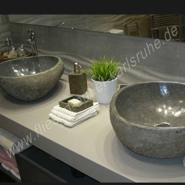 tercocer stein waschbecken riverstone rio gris fliesen outlet. Black Bedroom Furniture Sets. Home Design Ideas