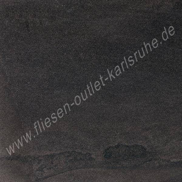 Ergon Stone Project black 60x60 cm controfalda lappato