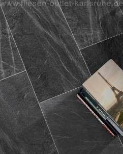 Colorker Living Stone noir 44,5x89,3 cm