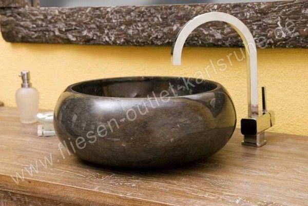 Waschbecken / Schüssel TH-005-NEB Negro Brillo