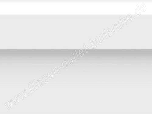Vives Zocalo Rivoli blanco Sockel 15x20 cm weiß glänzend mit Wulst