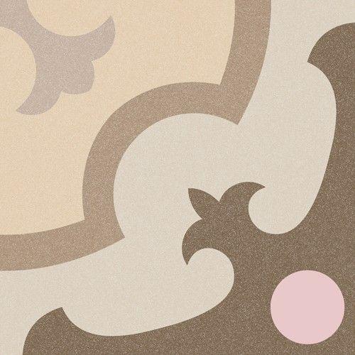 Vives 1900 Dekorfliese 20x20 cm Ordal beige