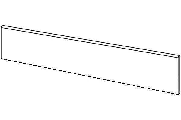 Emil Millelegni 001 Sockel White Toulipier 7,5x120 cm naturale Art.793M0R