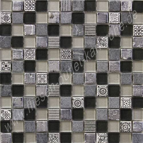 Mix black 2 3x2 3 cm mosaik fliesen outlet - Fliesenforum karlsruhe ...