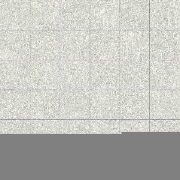 Ergon Metal.It Mosaico Platinum 5x5 cm Naturale RT